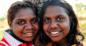 Two young Indigenous women