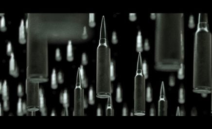 Graphic of bullets