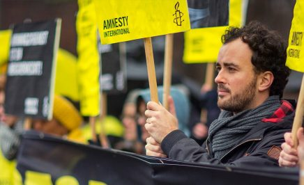 Action against the flogging of Raif Badawi.