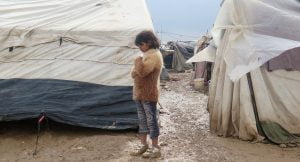 Internally Displaced Arab Iraqis in Khaneqin Camp, North East Iraq