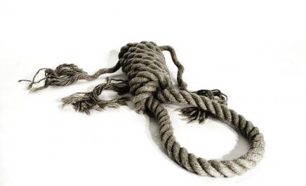 A hangman's noose
