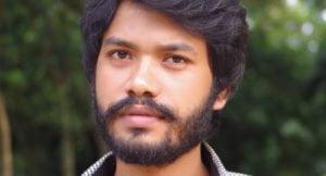 Bangladeshi student Dilip Roy