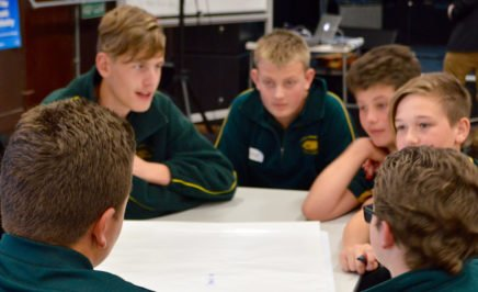 Students in the classroom at the SA/NT Schools Congress. © Private