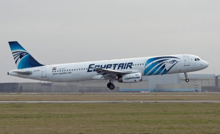 Egypt Air Airplane