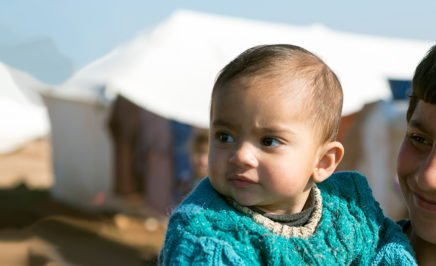 Refugees at displaced persons camp. © iStock/Joel Carillet