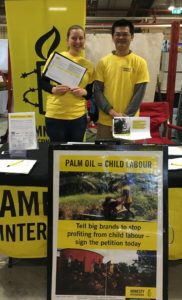 Activists tackle child labour in palm oil