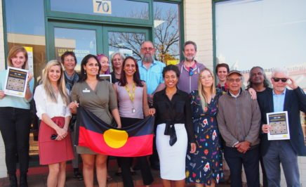 Volunteers and staff in Western Australia celebrate National Reconciliation Week.