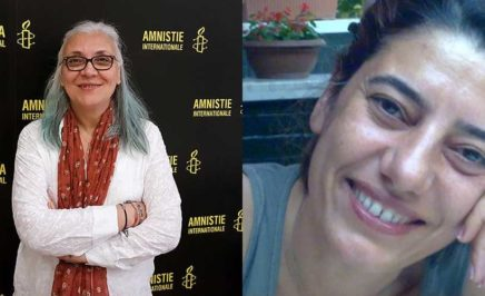Idil Eser and others imprisoned in Turkey. © AI