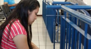 """Evelyn Beatriz Hernandez Cruz, who was sentenced to 30 years in prison on charges of """"aggravated homicide"""" under El Salvador's extreme anti-abortion law. © Agrupación Ciudadana por la Despenalización del Aborto El Salvador"""