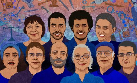 Human rights defenders in Turkey. © Rebecca Hendin