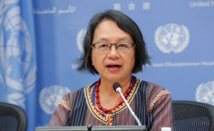 Special Rapporteur on the rights of Indigenous peoples, Victoria Tauli-Corpuz. © rightsandresources.org