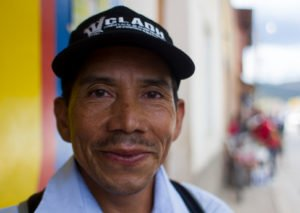 Martin Gomez, Sub-Coordinator of the Independent Lenca Indigenous Movement of La Paz (MILPAH).