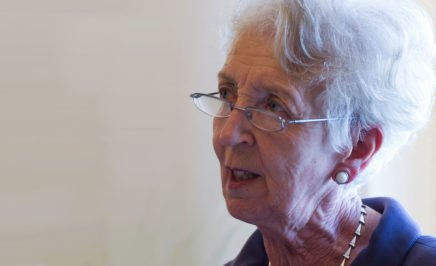 Anastasia Crickley, Chair of the CERD. © Flickr/UN Geneva