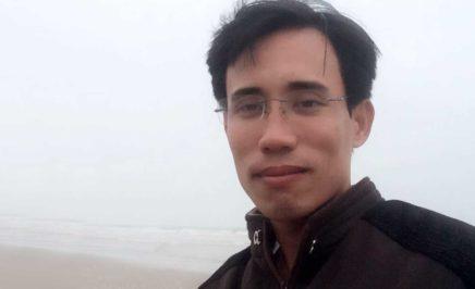 Environmental activist Hoàng Đức Bình. © Private