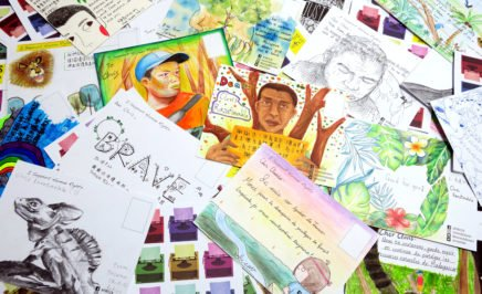 Write for Rights postcards for Clovis. © Amnesty International Taiwan
