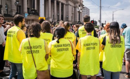 Amnesty's Human Rights Observer team.