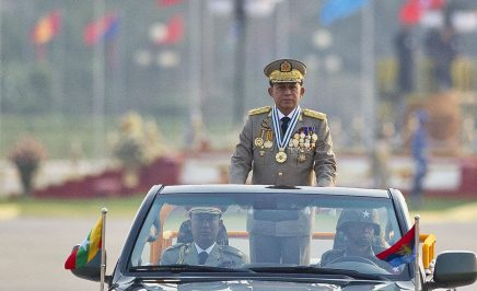 Chief Senior General Min Aung Hlaing, commander in chief of the Myanmar armed forces.