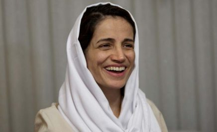 Prominent Iranian human rights lawyer, Nasrin Sotoudeh