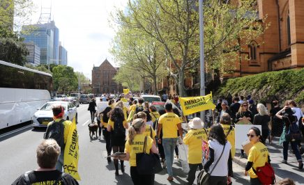 Climate action march Sydney 2019